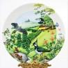Porcelánový tanier The Rolling Hills and Grasslands + certifikát WEDGWOOD 21,5 cm