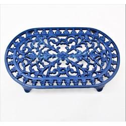 Kovová podložka - modrá 20,5 cm x 12 cm