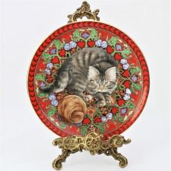 Porcelánový tanier  July - Gemma, AYNSLEY 17,5 cm