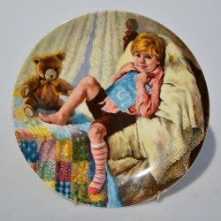 Porcelánový tanier Charlie - Flyer 21,5 cm