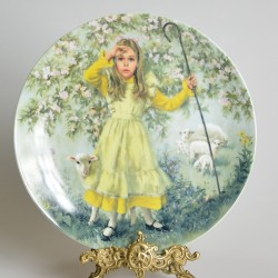 Porcelánový tanier Diddle Diddle Dumpling, Reco  21,5 cm