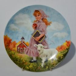 Porcelánový tanier Shakeaspearean Lovers