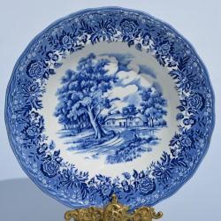 """Keramický tanier - Ironstone - """" Blarney Castle """""""