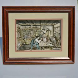 predane 3D obraz Kníhkupectvo 29,5 x 23,5 cm