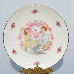 Porcelánový tanier Valentine´s Day 1976 Royal Doulton 21 cm