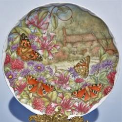 Porcelánový tanier - ZIMNÁ PIESEŇ