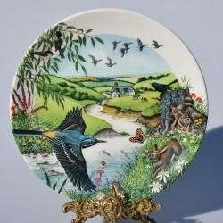 Porcelánový tanier The Beechwood + certifikát WEDGWOOD 21,5 cm