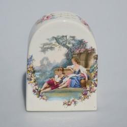 Keramický difuzér na sušenú levanduľu Dáma a gavalier 5,7 cm