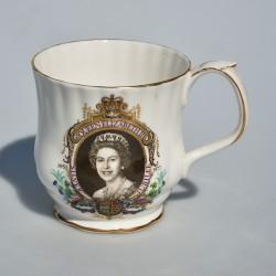 Porcelánový hrnček s uškami, The Marriage of Charles and Diana, objem 320 ml