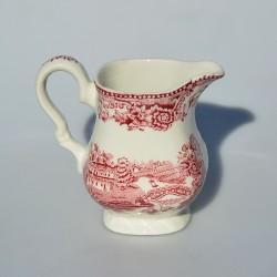Keramická mliekovka / džbánik Pink Camilla, Spode 200 ml