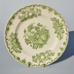 Hlboký keramický tanier - ironstone,Fruit Basket, Mason´s 25 cm