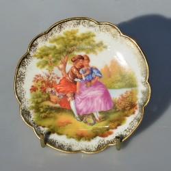 predané Porcelánový tanier Fragonard D35, LIMOGES 26 cm + stojan