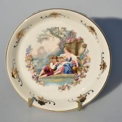Porcelánový tanierik Dáma a gavalier, Lord Nelson 10 cm
