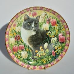 Porcelánový tanier Mungo and Mintaka, Danbury Mint 20,5 cm