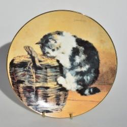 Porcelánový tanier Octopussy, Danbury Mint 21 cm