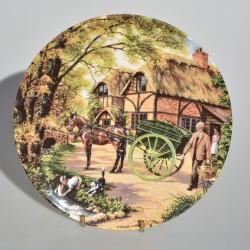 predane Porcelánový tanier The Spinner, Royal Doulton 21 cm