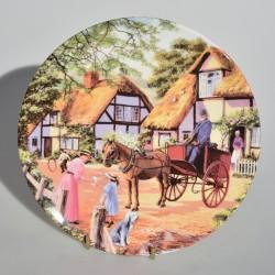 Porcelánový tanier The Grocer, Royal Doulton 19,5 cm