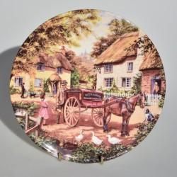 Porcelánový tanier The Postman, Royal Doulton 19,5 cm