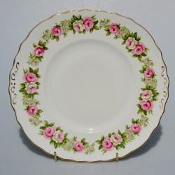 Sada 2 ks porcelánový tanier Predavačky, Liverpool Road Pottery Ltd. 15 cm, krakelovanie