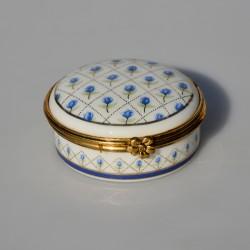 Zberateľská porcelánová šperkovnička E.P.16, Del Prado 4x4x3 cm
