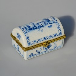 Zberateľská porcelánová šperkovnička E.P29, Del Prado 5,5x5 cm