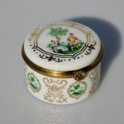 Zberateľská porcelánová šperkovnička E.P13, Del Prado 6x2,2 cm
