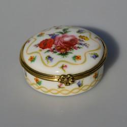 Zberateľská porcelánová šperkovnička E.P21, Del Prado 5x3 cm