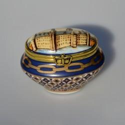Zberateľská porcelánová šperkovnička E.P.19, Del Prado 6x3x3 cm