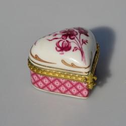 Zberateľská porcelánová šperkovnička E.P.10, Del Prado 6x3,5x3,5 cm