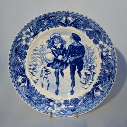 PREDANE Porcelánový tanier Christmas 1990, Wedgwood 21,5 cm