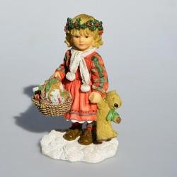 caka na prz Zberateľská resinová soška The New Broom, Leonardo 11,5x11x6 cm cm + orig.obal