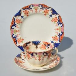 Starožitný porcelánový trojset Allertons 200 ml, krakelovanie-iba dekor