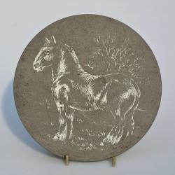 Kovová podložka Kohút 22 cm