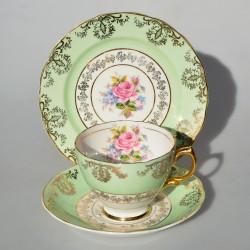 predané Aynsley Starožitný porcelánový trojset Queen´s Garden, 180 ml
