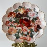 Porcelánový tanier Victorian Rose Bouquet,  The Franklin Mint 21 cm