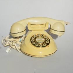 predane Retro telefón plastový Astral Chelsea, výška 14,5 cm a podstava 22x16 cm, záruka sa nevzťahuje na funkčnosť