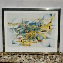 Obraz - print Tanec na mori, Jack Vettriano 28x23 cm
