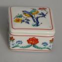 odfotit ep21 Zberateľská porcelánová šperkovnička E.P.35, Del Prado 5,5x4x3 cm