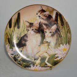 predane mon demit Porcelánový tanier Bundle of Joy, Franklin Mint 21 cm