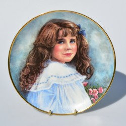 Porcelánový tanier Diana, Franklin Mint 20,5 cm