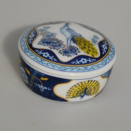 Zberateľská porcelánová šperkovnička E.P.49, Del Prado 6,5x4 cm