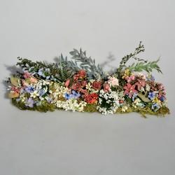 Kvetinový záhon do domčeka pre bábiky, Rosella Silks 16x6x10 cm
