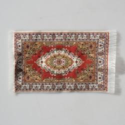 Tkaný tenký koberec do domčeka pre bábiky 16,5x9,5 cm