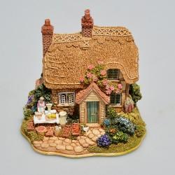 Lilliput Lane Zberateľský minidomček Lavender Cottage, 7x9x7 cm, v orig.obale, prilepený kúsok trávniku