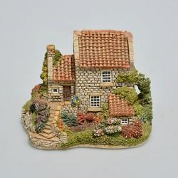 Lilliput Lane Zberateľský minidomček Runswick House 7,5x9,5x7,5 cm, v orig.obale, odlomený koniec komínov