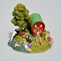 Lilliput Lane Zberateľský minidomček Little Scrumpy, 7,5x8,5x6 cm, v orig.obale