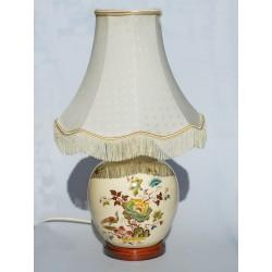 Keramická stolová lampa, bez žiarovky, Max 100 W,výška bez tienidla 31 cm, FUNKČNÁ,záruka sa nevzťahuje na funkčnosť