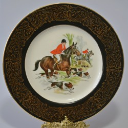 Porcelánový tanier Nijinsky, ROYAL WORCESTER 14 cm