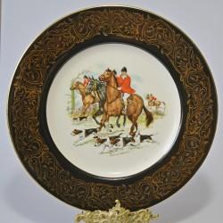 Porcelánový tanier Jazdectvo 27 cm