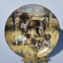 Porcelánový tanier The Lookout, Hamilton Collection 21,5 cm